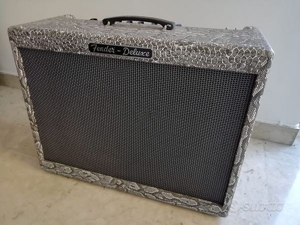 FENDER DELUXE HOT-ROD - Limited edition PYTHON