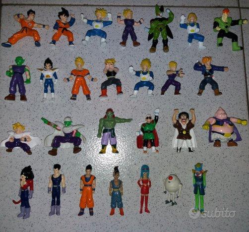Lotto personaggi Dragonball Panini Dolci Preziosi