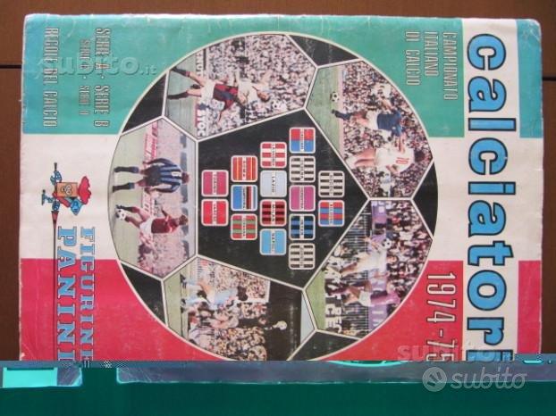 Album panini calciatori completo 1974 - 1975