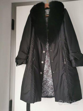 Cappotto con collo di Pelliccia tg.L