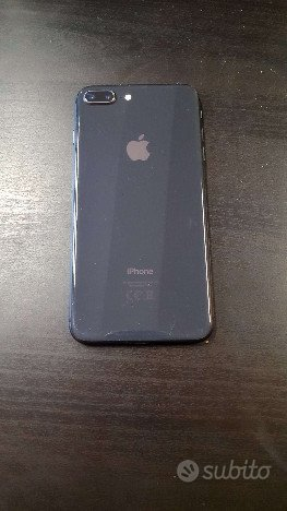 Apple Iphone 8 plus 64gb nero con garanzia