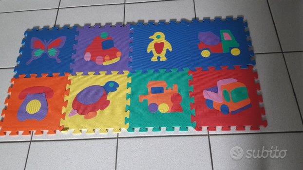 Tappetino gioco puzzle per bambini