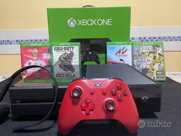 Xbox One 500 Gb Controller Cuffia 4 giochi