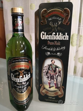Glenfiddich special old reserve clan macpherson