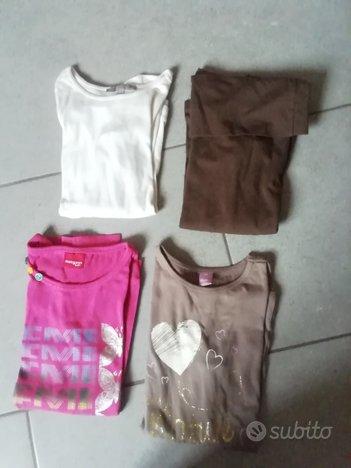 Magliette bambina taglia 7-8 anni marche varie
