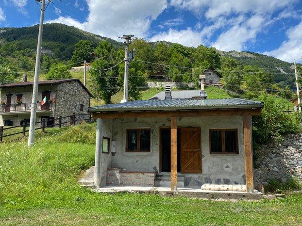 Casa si montagna indipendente con terreno