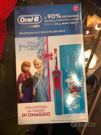 Spazzolino Elettrico Oral B Frozen con custodia