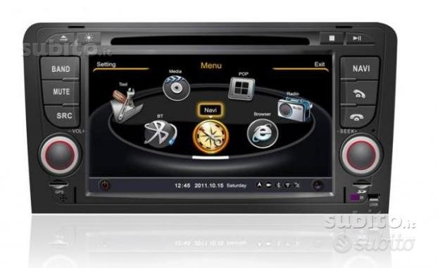 Radio Monitor ANDROID GPS Audi A3 8P 2004-2012
