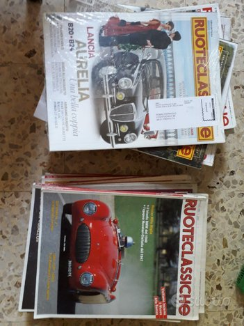 Arretrati riviste di moto e auto