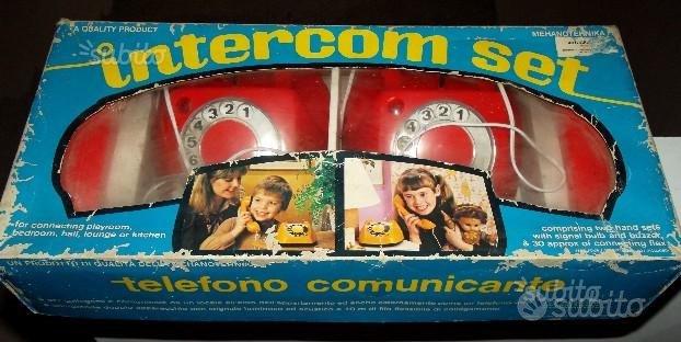 Telefono comunicante intercom-set