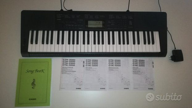 Pianola CASIO CTK-3200