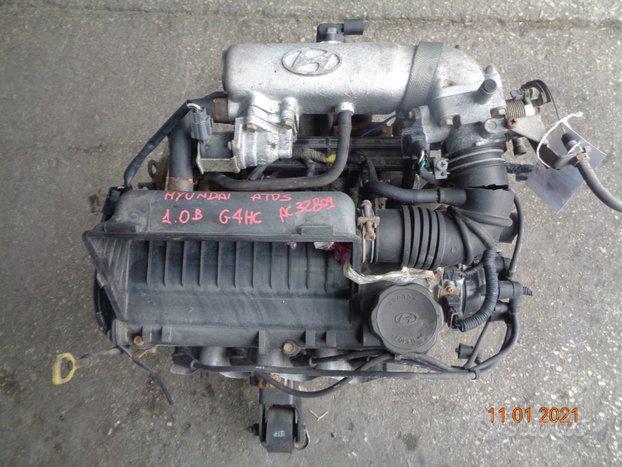 Hyundai atos 1.0 b motore g4hc con spinterogeno
