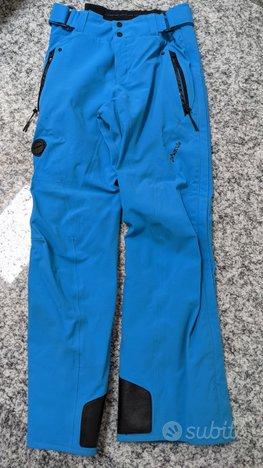 Pantaloni Invernali Uomo tg. 50 Blu elettrico