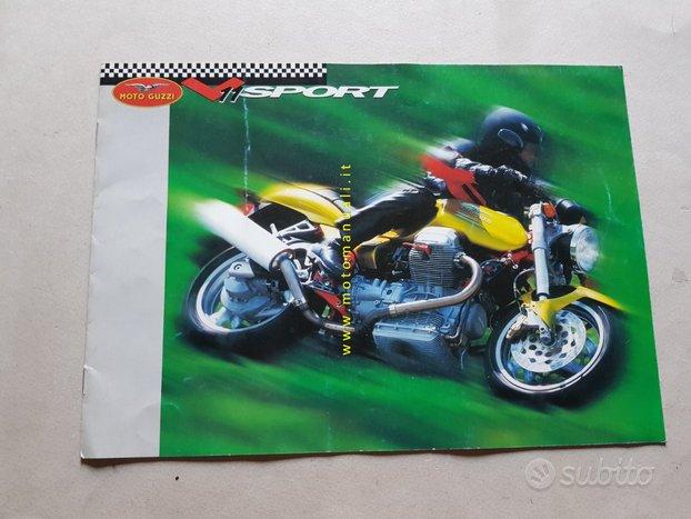 Moto Guzzi V11 Sport 1999 depliant originale epoca