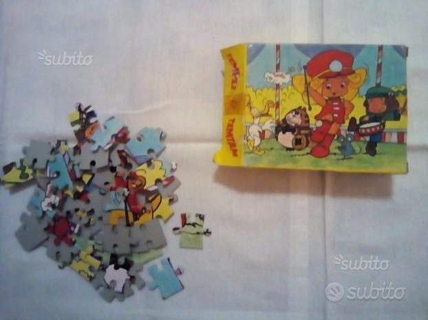 Puzzle Temple and Tam Tam 60 pz (2 mancanti)