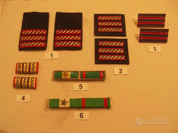 Gradi Aeronautica Militare ed Esercito Italiano