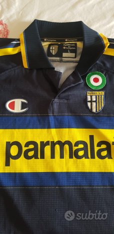 Maglia Parma Calcio 1999 2000 Parmalat coppa