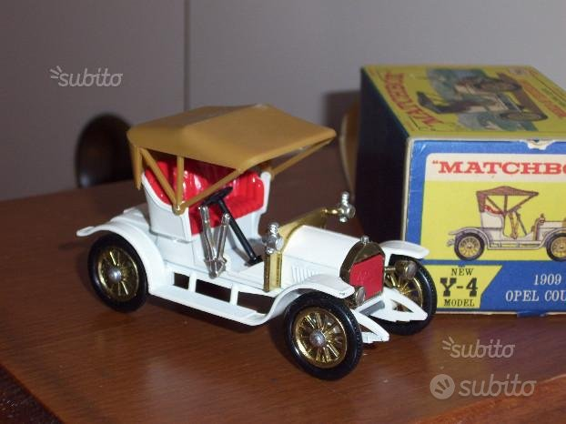 Opel coupe 1909 Matchbox Lesney Y-4