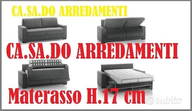 Divano letto materasso H.17 cm