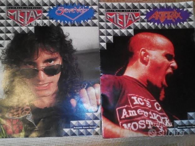 Poster Anthrax Steve Vai 1992