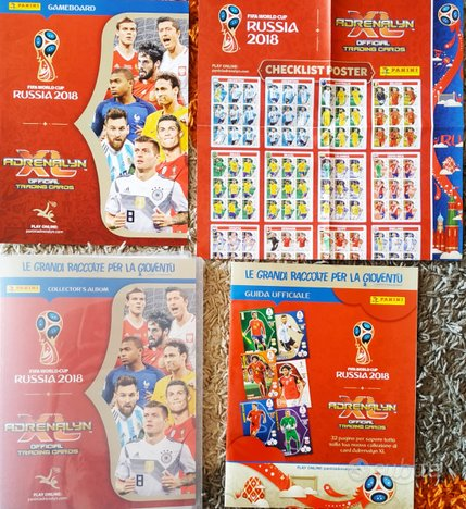Raccoglitore Album Adrenalyn XL RUSSIA 18 WorldCup