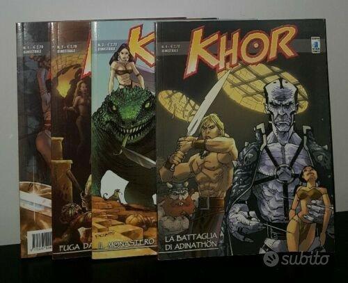 Serie completa Khor Star Comics