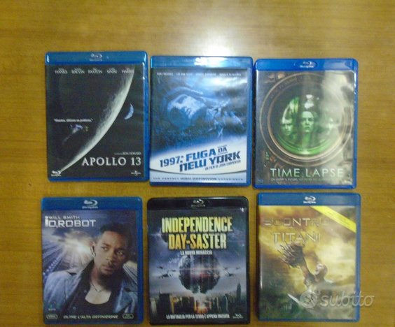 Blu-ray film fantascienza e fantasy
