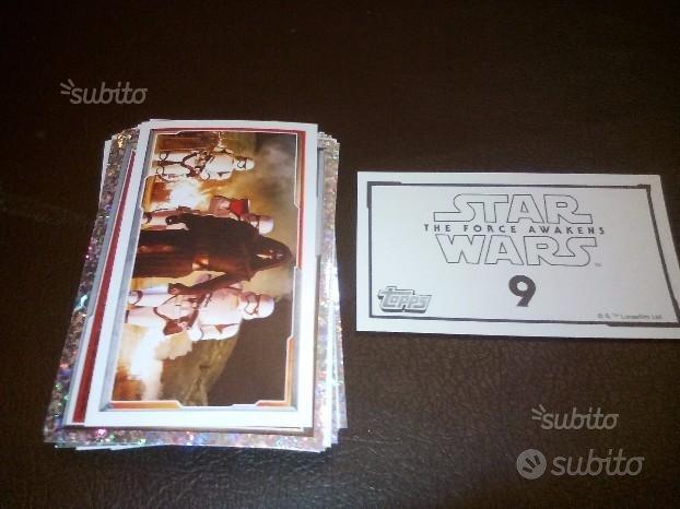 Figurine star wars album topps