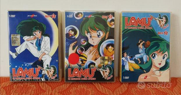 Lamu Dvd Box 1-2-3 Yamato Video la serie TV
