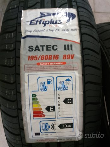 4 gomme nuove estive