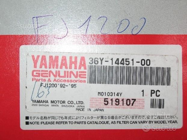 Filtro aria yamaha FJ 1200 dal 1986 al 1992
