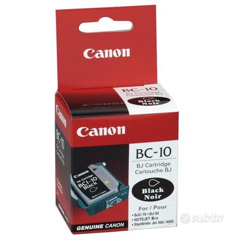 Cartuccia Canon BC-10 inkjet Black ORIGINALE e NUO