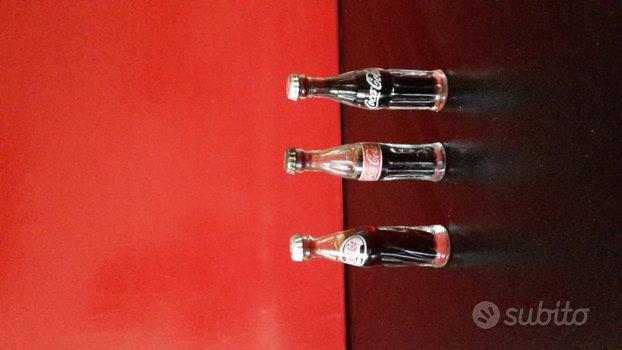 Bottigliette miniature in vetro da collezione