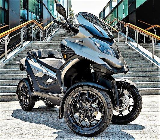 NEW Quadro QOODER 400cc 4 RUOTE (Patente Auto)