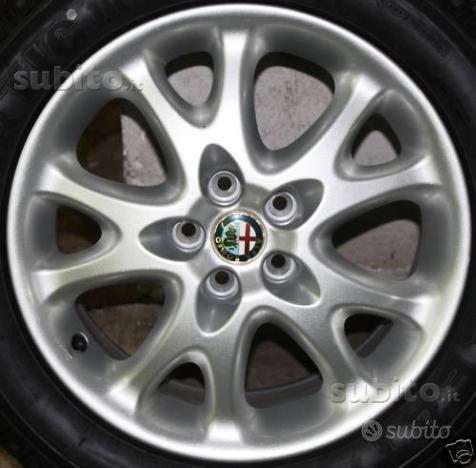 Cerchi in lega 16 originali Alfa Romeo 147 e 156