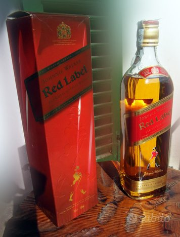 Red Label Johnnie Walker OLD Scotch Whisky