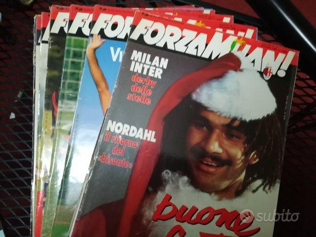 FORZA MILAN riviste anni 80/90/00/10