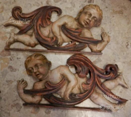 Antica coppia di angeli