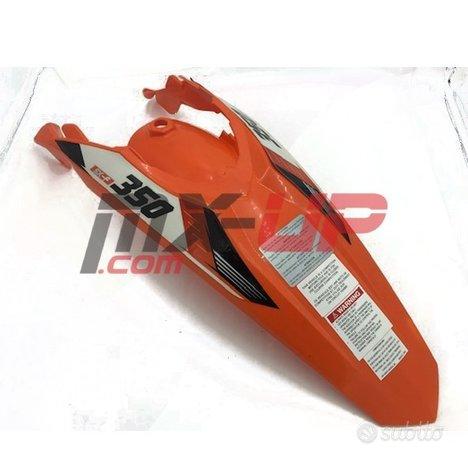 Parafango posteriore arancio KTM 125-450 2011-2016
