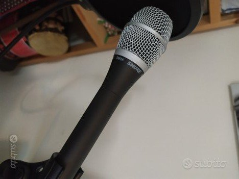 Shure microfono condensatore