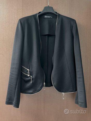 GIACCA blazer nero elegante da donna RINASCIMENTO