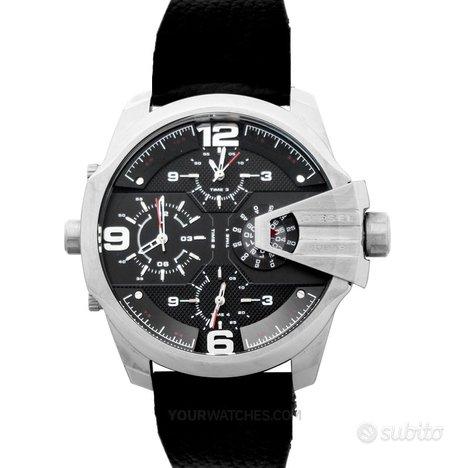 [NUOVO] Diesel DZ7376 Black Strap Leather