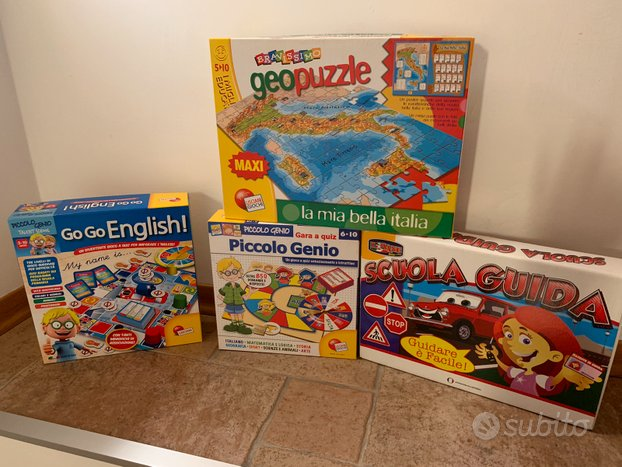 Set giochi educativi