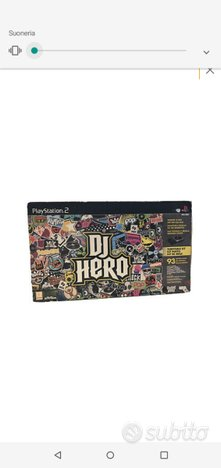 Play Station 2 .dj hero nuovo