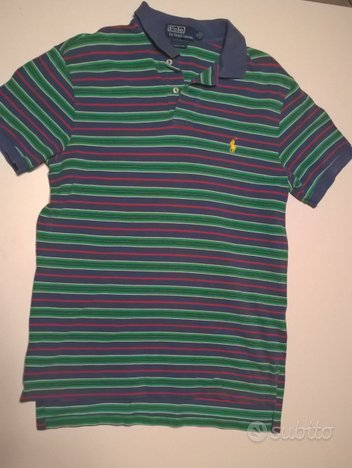 Polo originale Ralph Lauren a righe