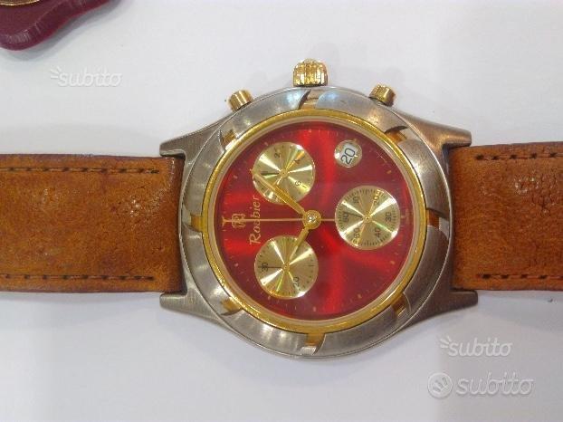 Cronografo roubier swiss made