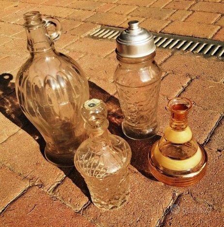 Bottiglie in vetro vintage