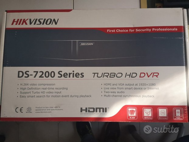 Hikvision dvr ibrido ds-7204hqhi-f1/n/a turbo hd