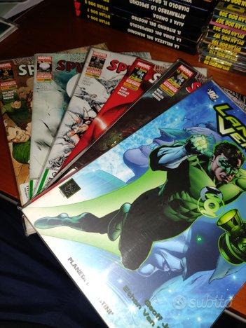 Marvel spiderman e lanterna verde ( axe cop)