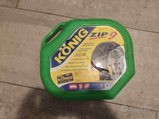 Catene neve Konig Zip 9 misura 80